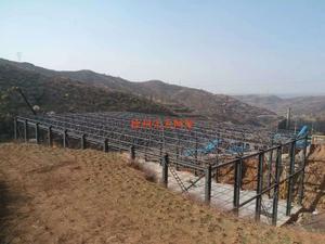 阳泉煤矿网架
